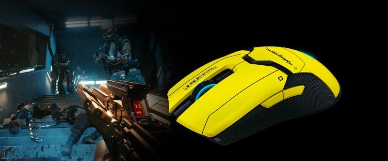 souris Razer Viper Ultimate Cyberpunk 2077