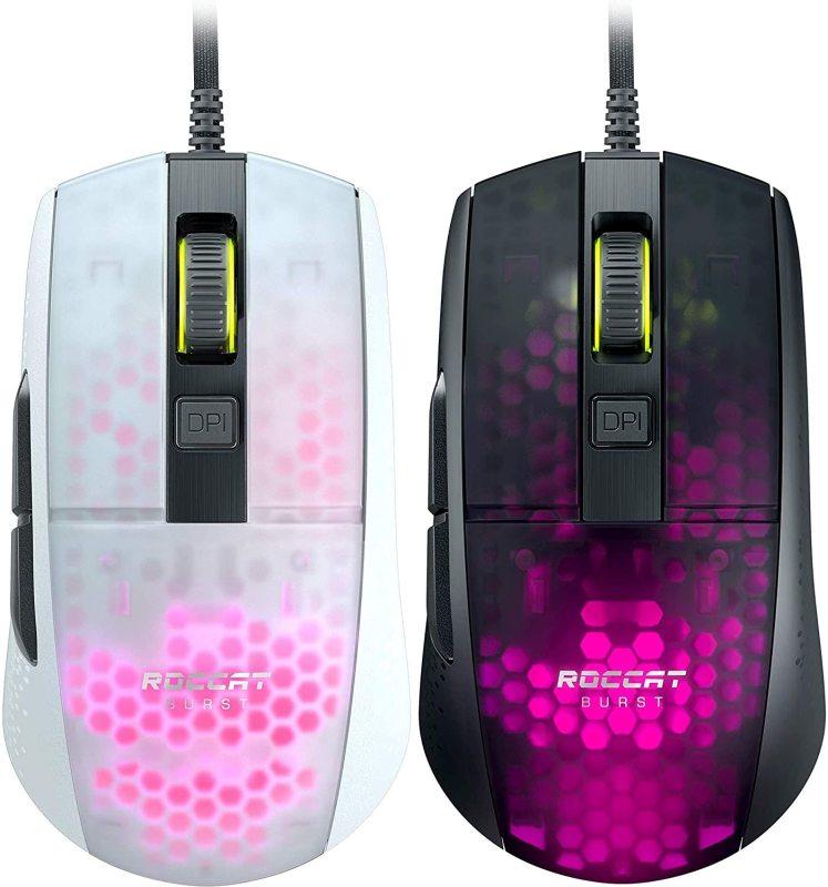 test souris Roccat Burst Pro couleurs