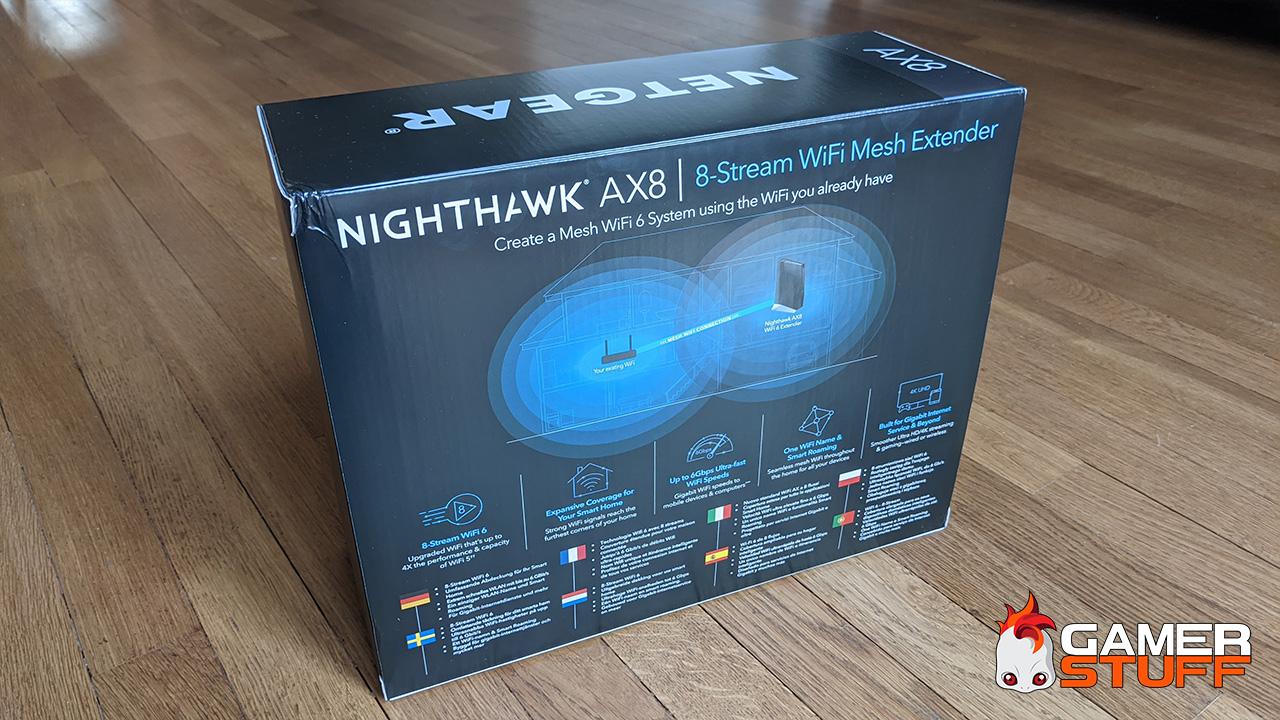 test répéteur Nighthawk AX6000 EAX80 Wifi 6