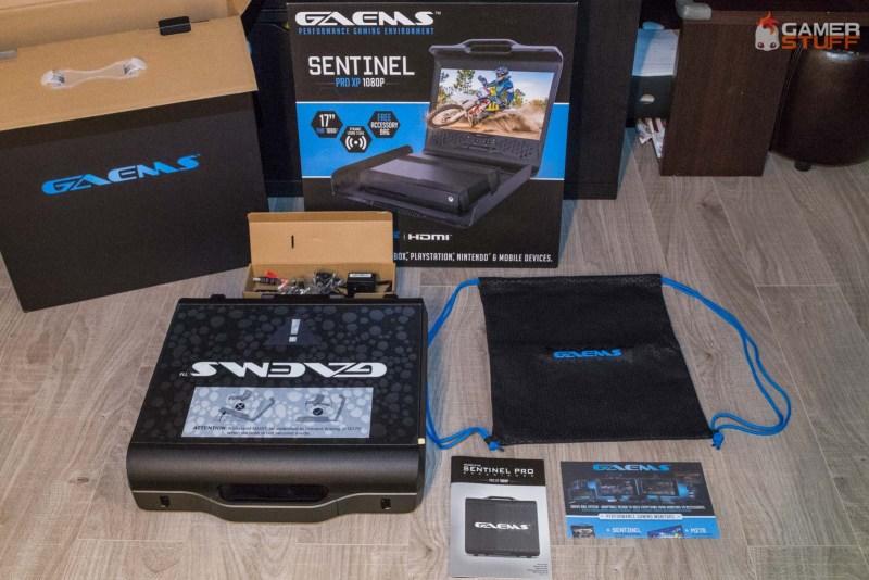 test station de jeu nomade GAEMS Sentinel
