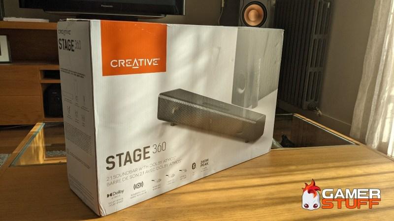 test barre de son Creative Stage 360