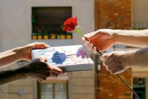 wręczanie prezentów w katalonii