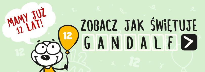12 urodziny Gandalfa