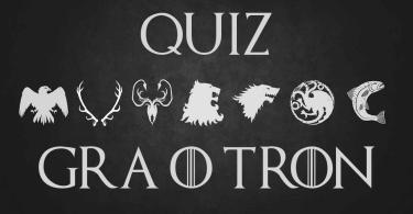 Gra o Tron Quiz