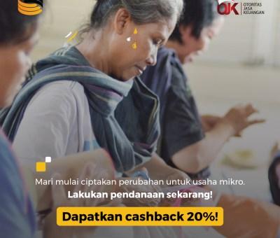 Promo Investas Online Ulang Tahun GandengTangan Untuk Lenders Baru
