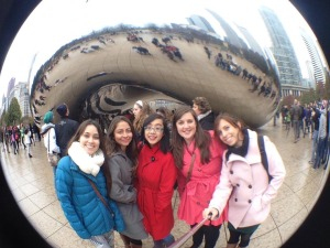 Vivien in Chicago