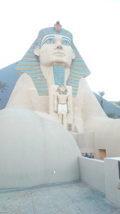 hotel luxor sphinx