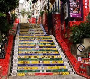 Selaron Stairs, Rio de Janeiro