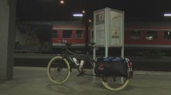 Day 1: Train station in Freilassing at 4:20 a.m.