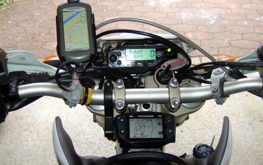 WR250R GPS Stromversorgung
