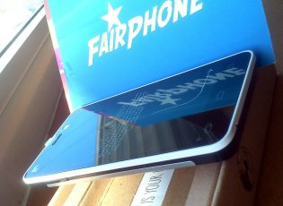 Das Fairphone 1, limited edition