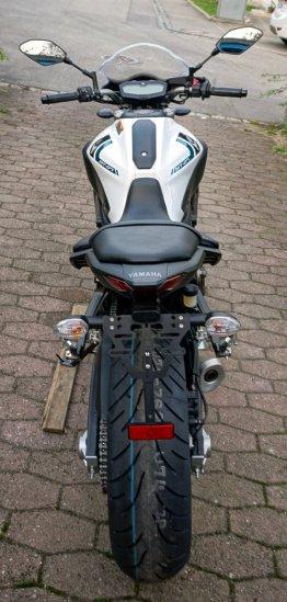 Bruudt CNC Kennzeichenhalter für Yamaha MT-07