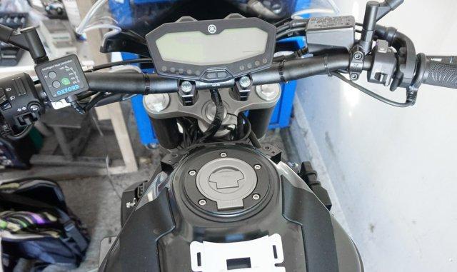Yamaha MT-07 ohne Tankverkleidung