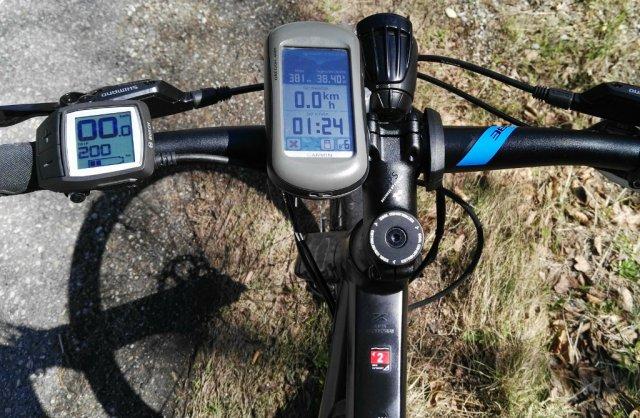 200km und 900Hm mit einer Akkuladung am Cube Cross Hybrid One