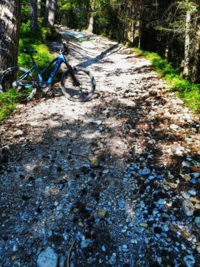 Schellenberg, Hillclimbtest und Fail mit Pedelec
