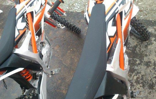 KTM Freeride E von oben ohne Akkus
