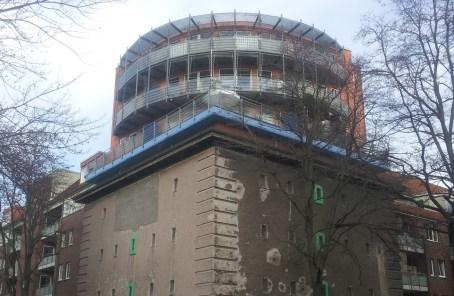 Neubau auf Bunker, Ottenstraße, Linden-Nord, Hannover (Foto: Daniel Gardemin)