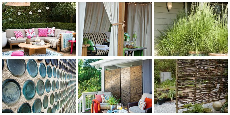 10 patio privacy ideas to keep your