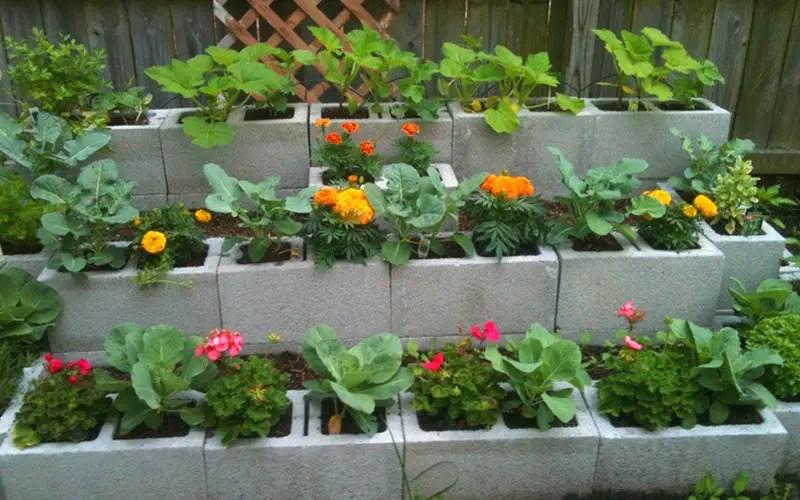 Flower Block Garden