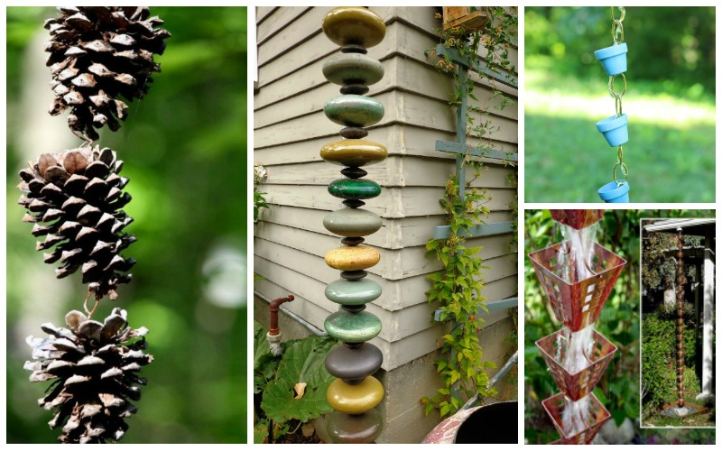 17 Brilliant Rain Chain Ideas Garden Lovers Club