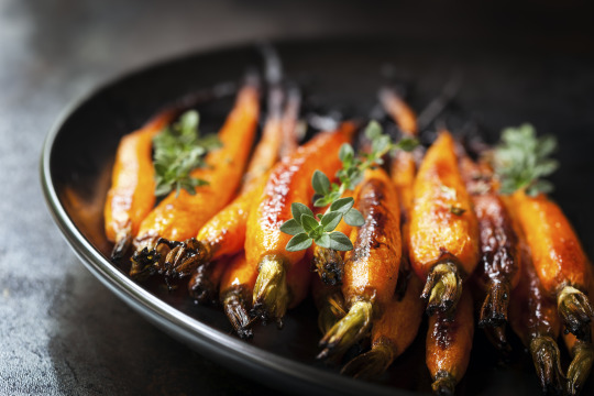 Roasted Carrots with Ginger