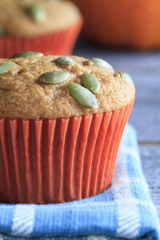 Pumpkin Rosemary Muffins
