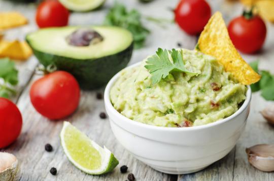Guacamole with Lime & Cilantro