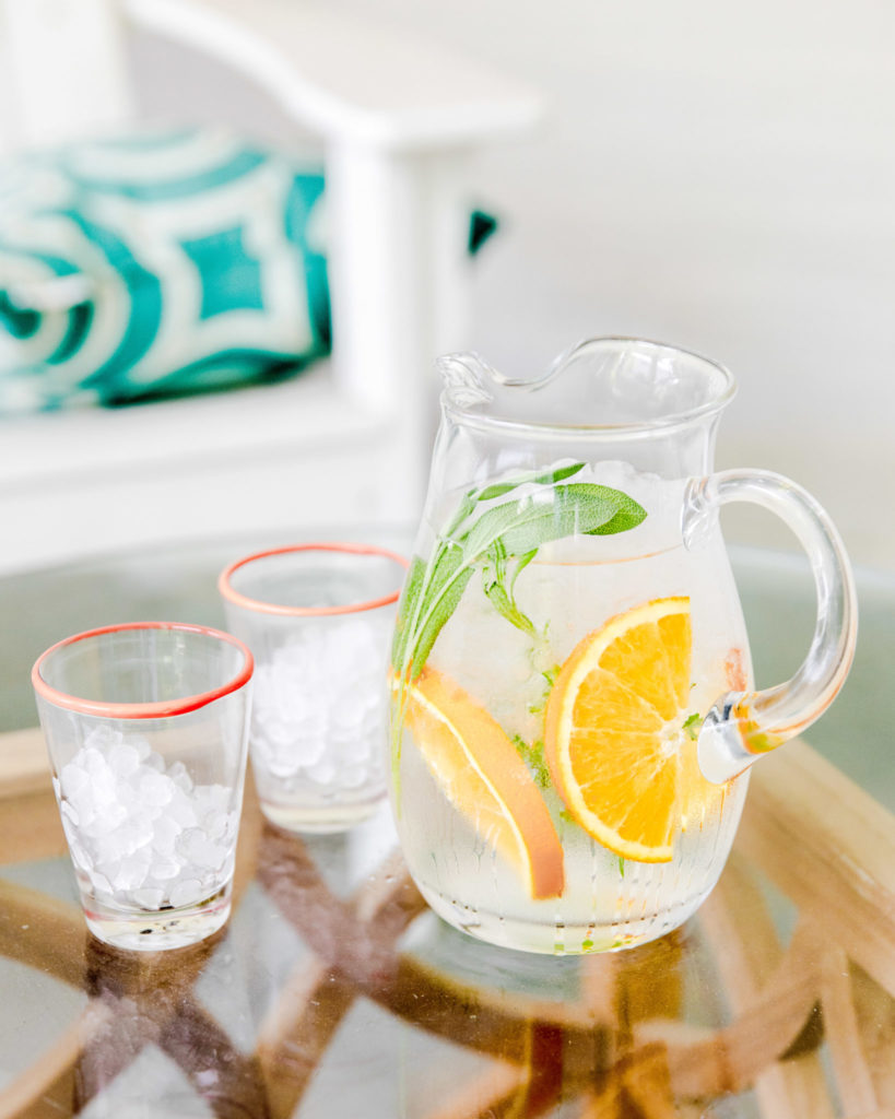 Fruit & Herb Infused Water