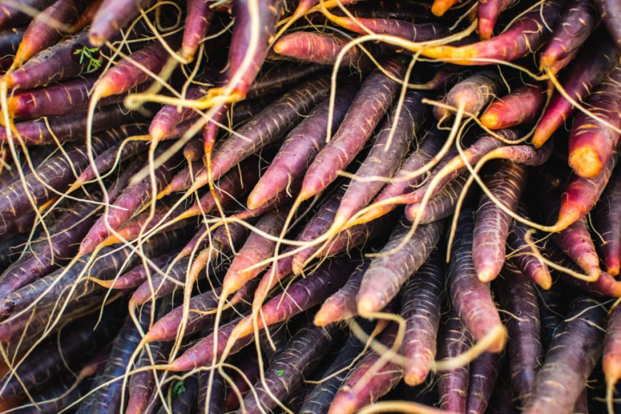 fall root veggies