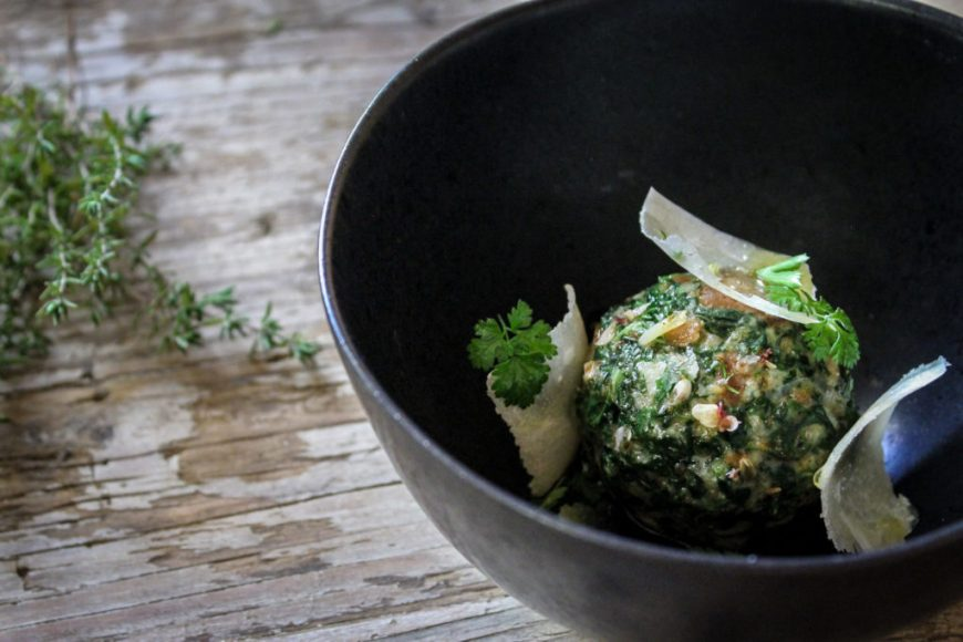 Spinach Dumplings Recipe