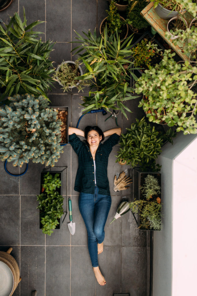 container gardens for new growers