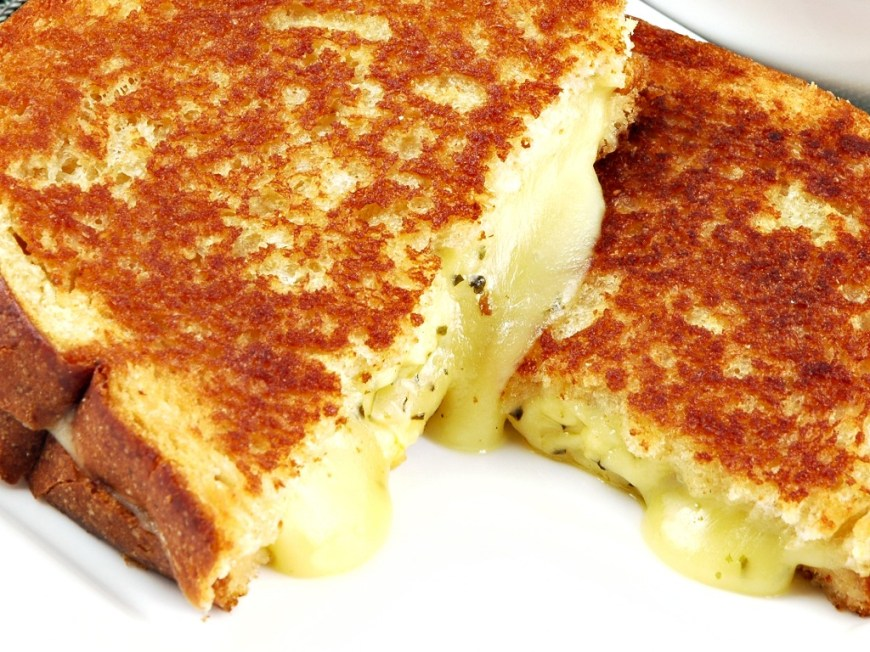 thyme grilled cheese recipes