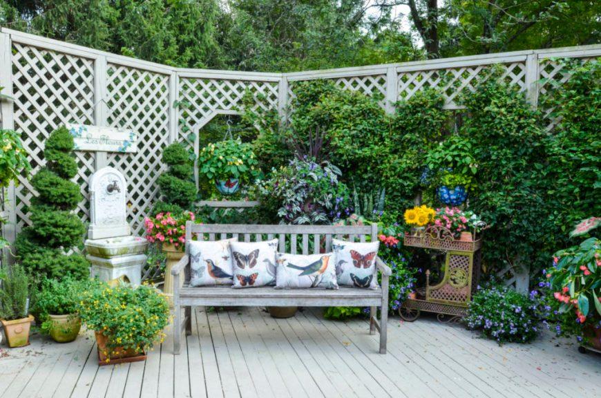 Garden Patio Living Space