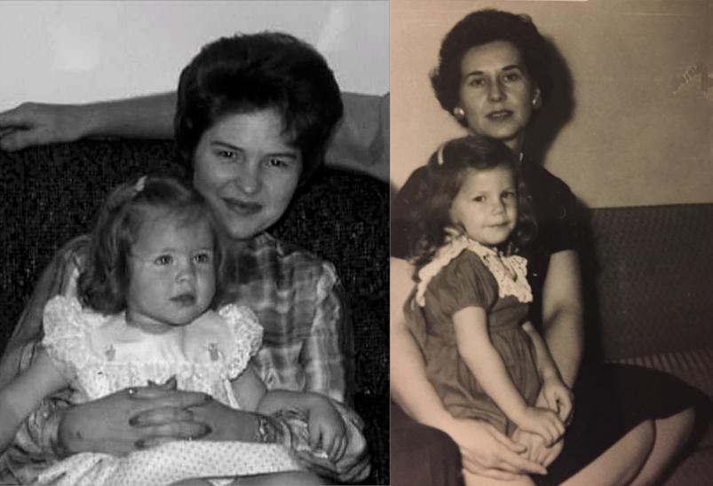 Donna Letier & Julie Eggers with Parents