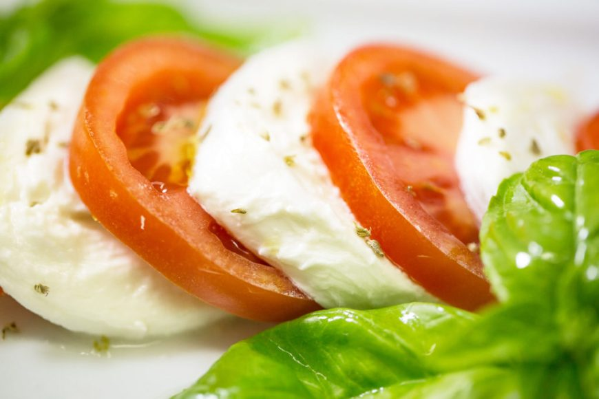 Caprese Salad with Basil