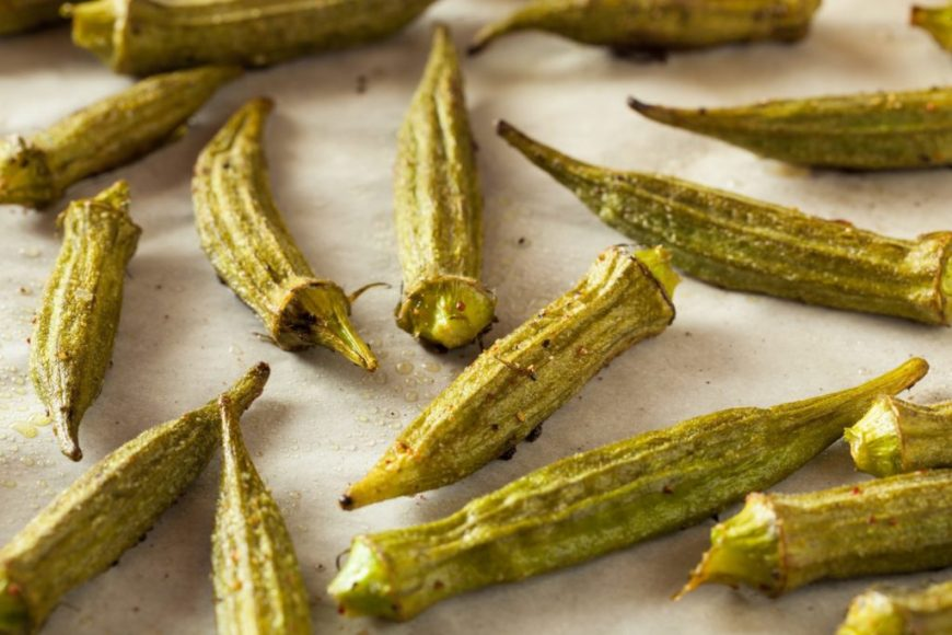 Charred Okra Recipe