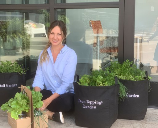 Kara with Container Vegetable Gardens