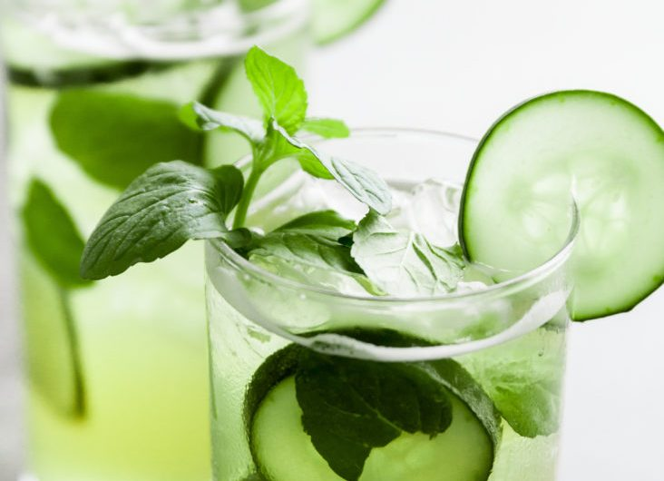 Mojito with Double Mint Simple Syrup