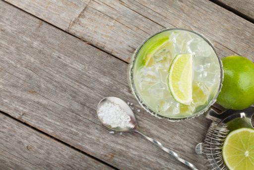 Margarita with Salt for Cinco de Mayo