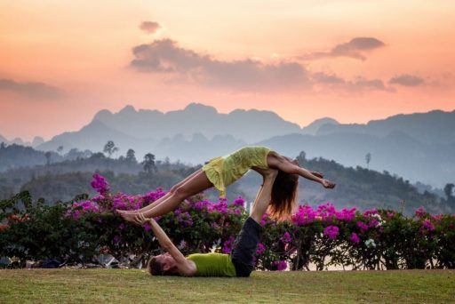 Couples Yoga Valentines Day Date Idea