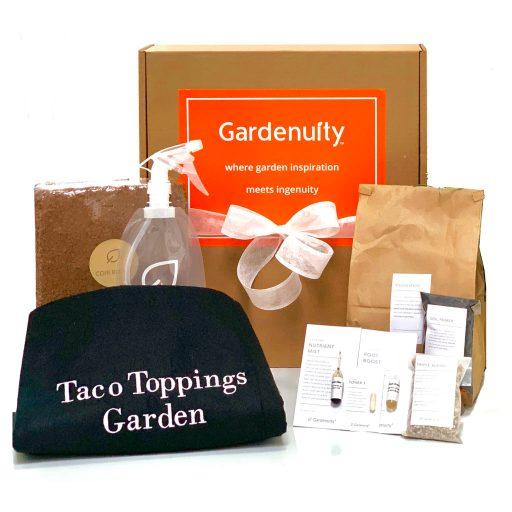 Taco Toppings Garden