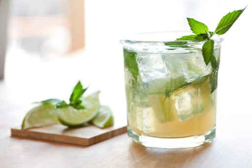 Gin & Tonic With Lemon Verbena - Cocktail Trends