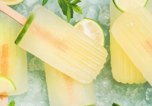 Lavender Lemonade Popsicle - A Simple Summer Favorite