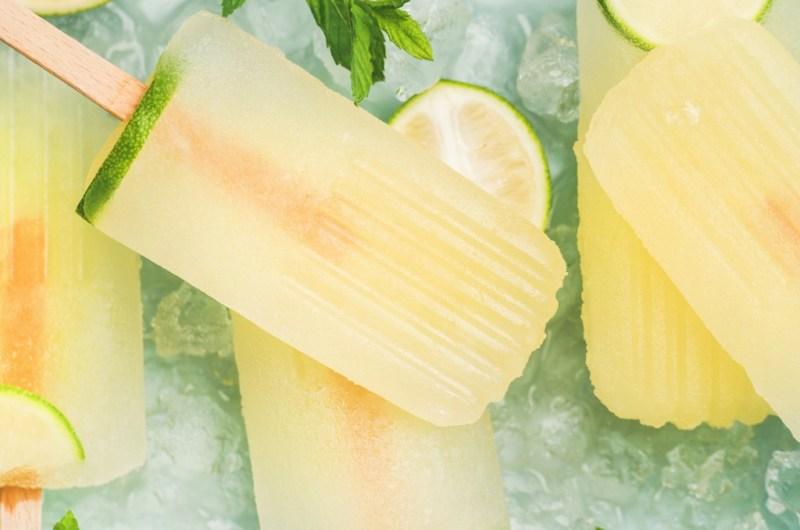 Lucy Lavender & Lemonade Popsicle