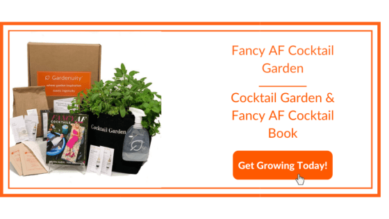 Fancy AF Cocktail Garden