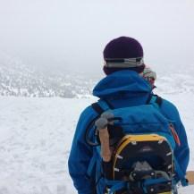 お昼の後は小岳へ登って
