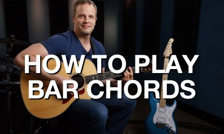 How To Play Bar Chords – Rhythm Guitar Lesson #4