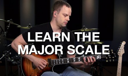 Learn The Major Scale On Guitar – Lead Guitar Lesson #3