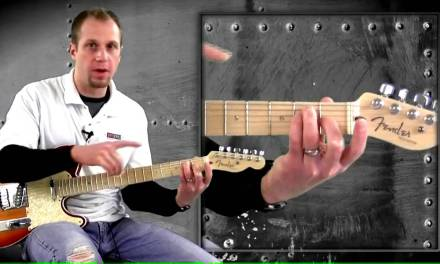 Barre and Minor Chords Beginner Electric Guitar Lesson