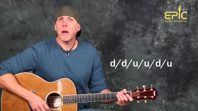Acoustic guitar lesson learn Soul Asylum Runaway Train EZ fun ...